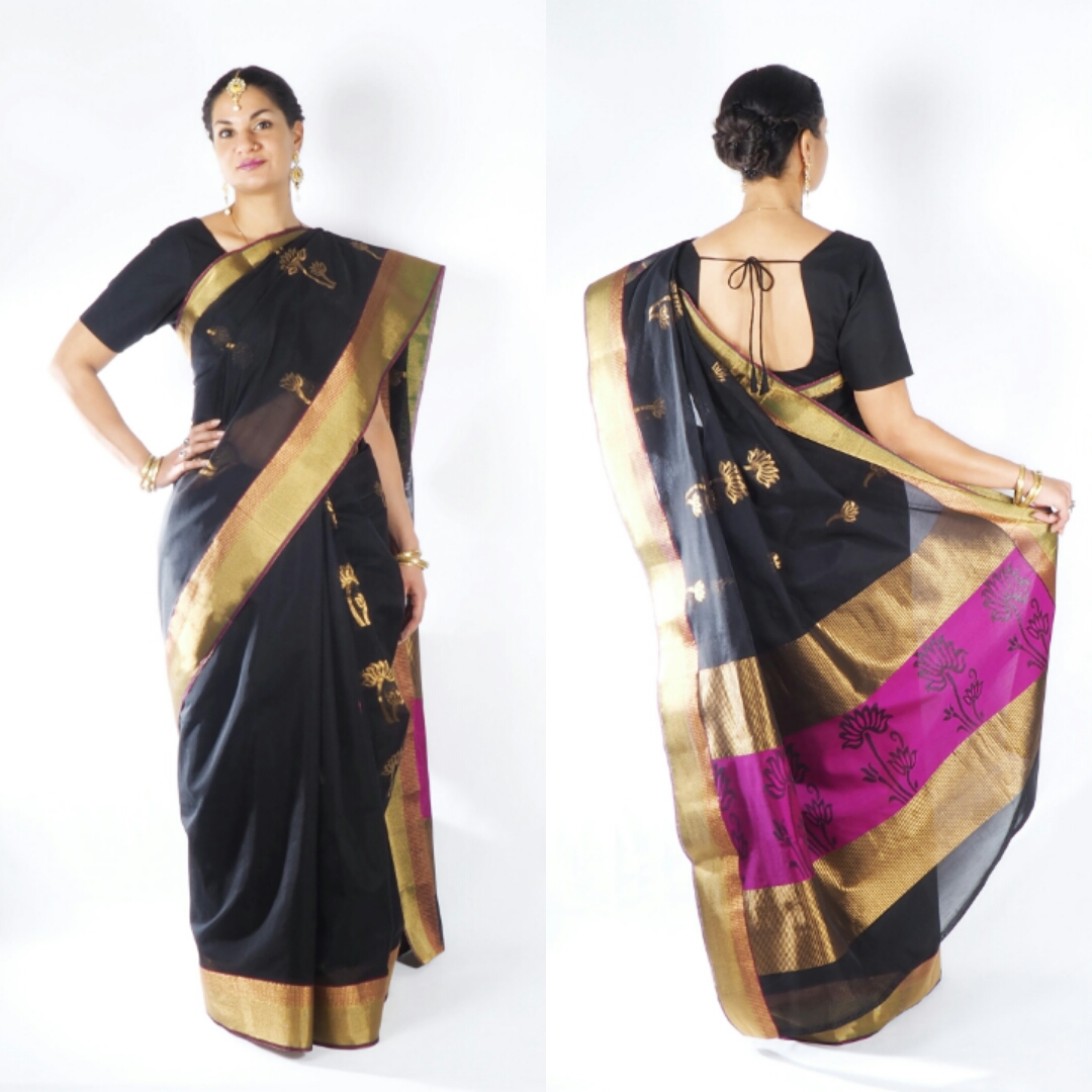 de7b94bf63 Every saree you can buy in our Shop will be delivered with a matching  blouse piece from which you can sew a blouse to your measurements.