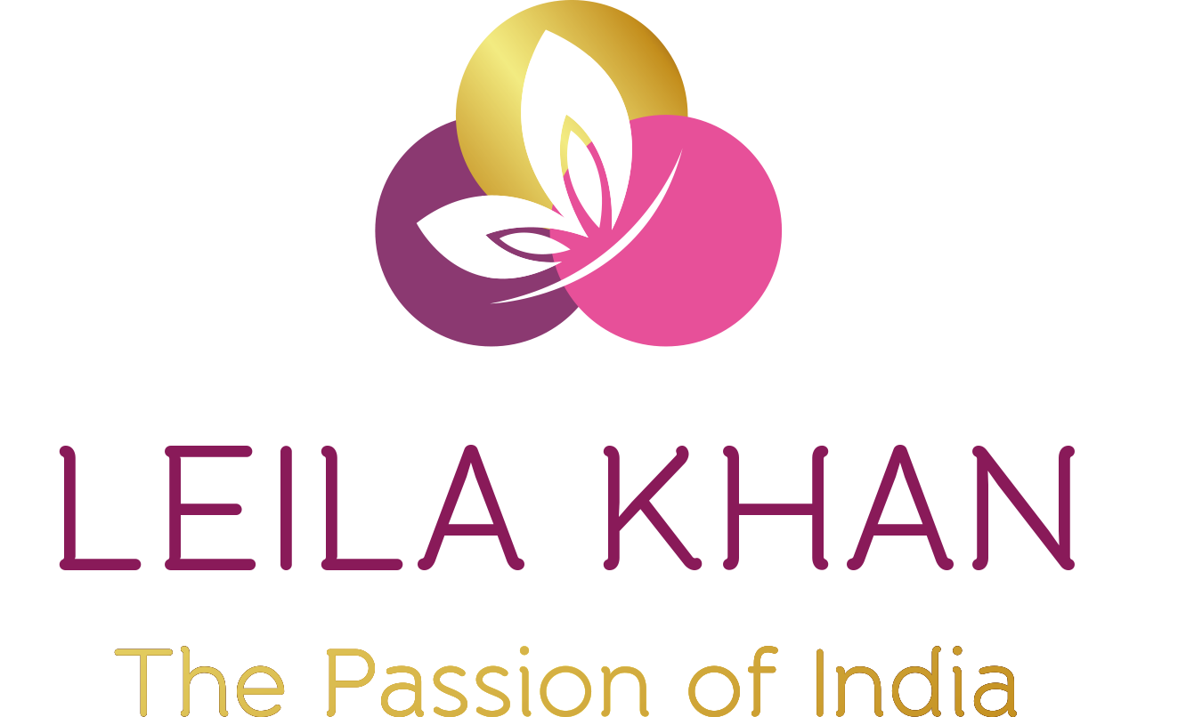 Leila Khan - The Passion of India-Logo